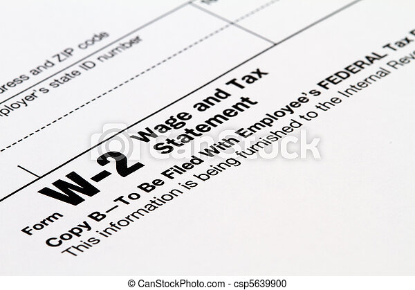 W 2 Form W 2 Tax Form Stock Photography Search Pictures And Photo