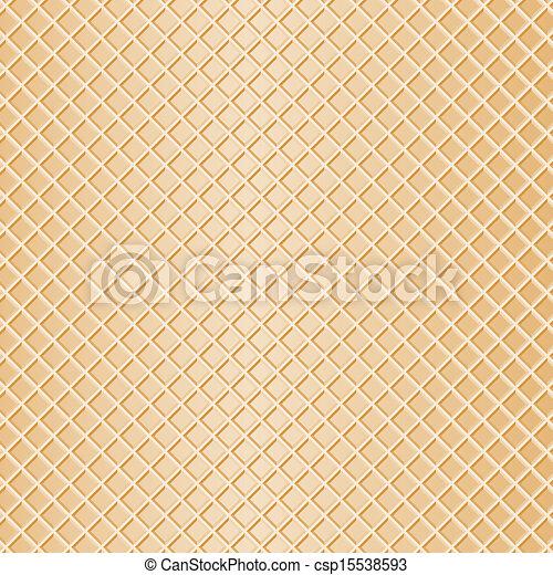 waffle background - csp15538593