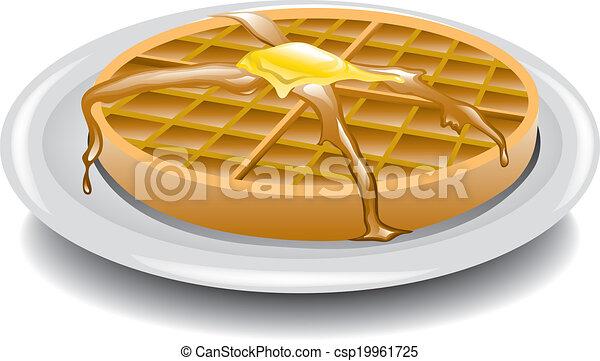 Waffle - csp19961725