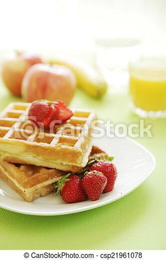 Waffles - csp21961078