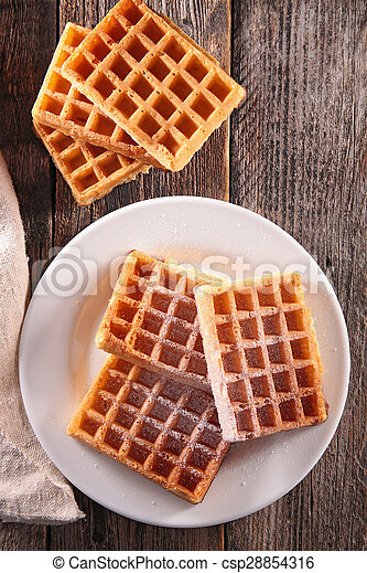 waffles - csp28854316