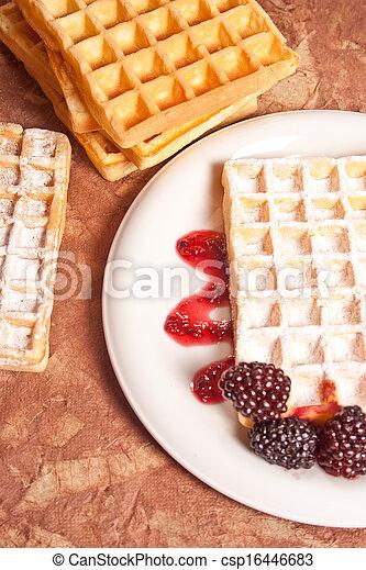 waffles - csp16446683