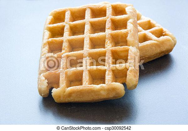 Waffles - csp30092542