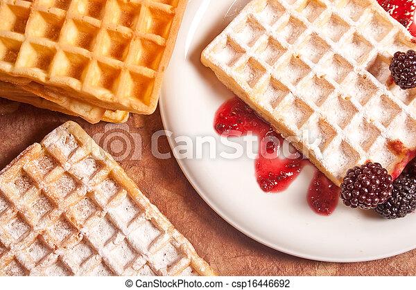 waffles - csp16446692