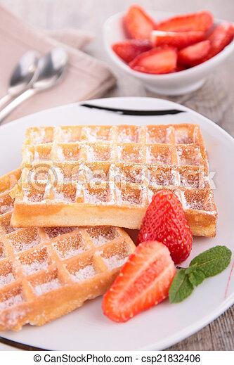 waffles - csp21832406
