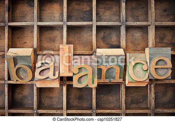 waga, drewno, typ, słowo - csp10251827