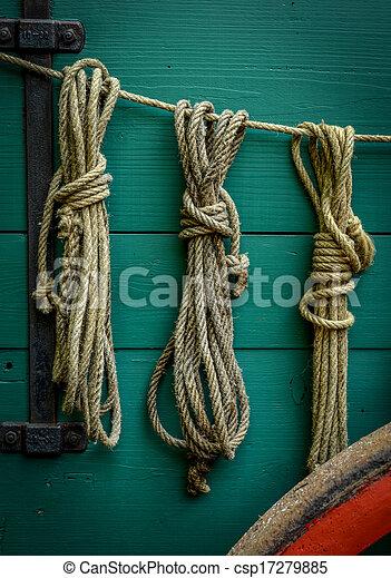 Wagon Ropes - csp17279885