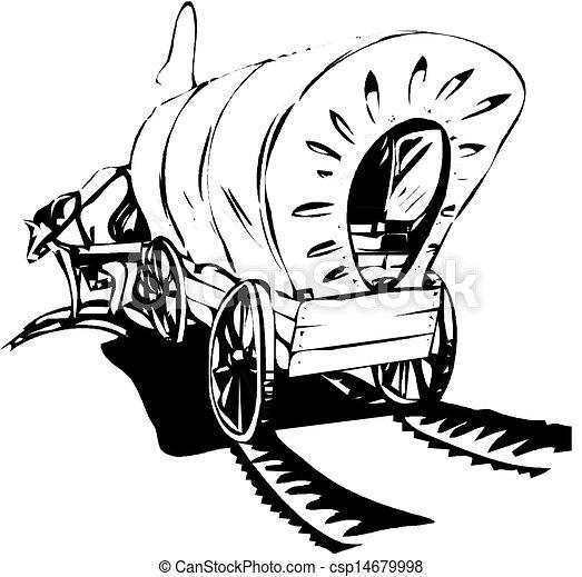 Wagon Drawing