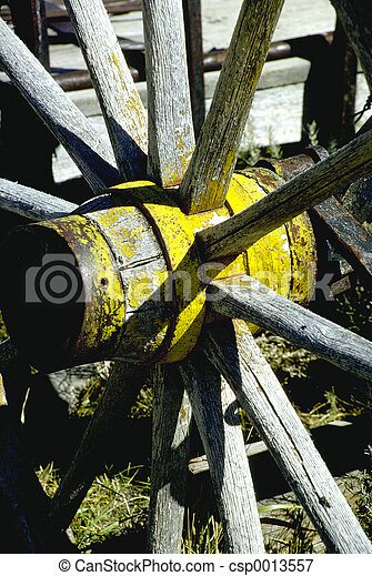 Wagon wheel - csp0013557
