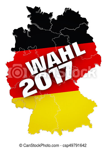 wahl 2017 text on germany map textured with german flag 3d rh canstockphoto com germany clipart map germany clipart map