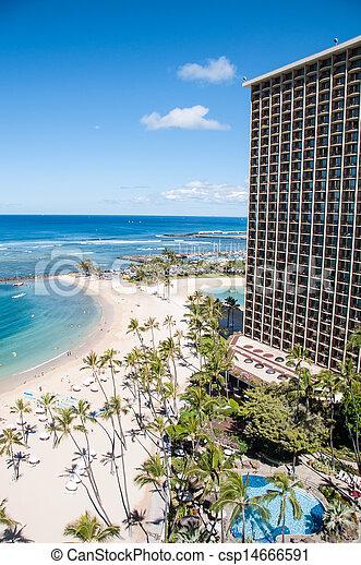Waikiki Beach - csp14666591
