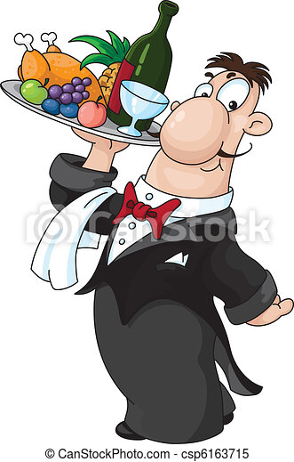 waiter - csp6163715
