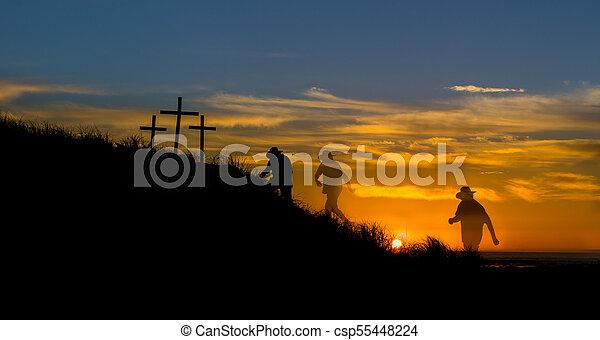 Walk to Salvation - csp55448224