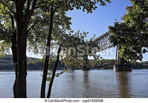 Walkway Over the Hudson - csp51526598