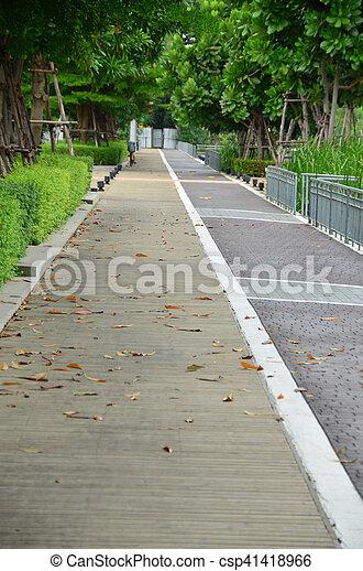 Walkway - csp41418966
