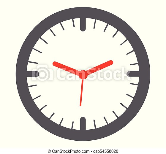 wall clock clipart and stock illustrations 12 650 wall clock vector rh canstockphoto com Cute Clock Clip Art Cute Clock Clip Art