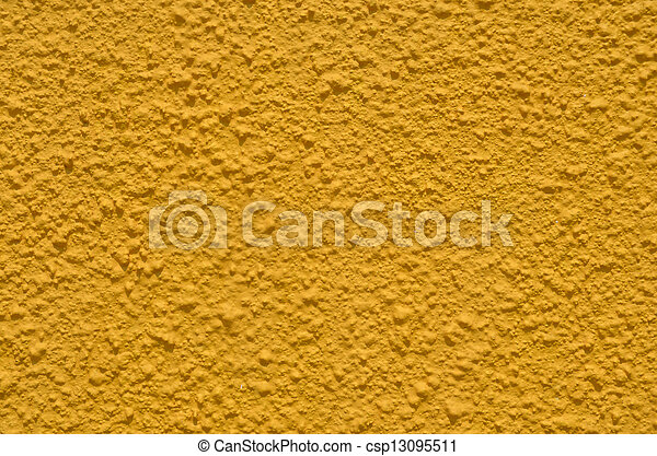 Background of the texture wall dark yellow colour.