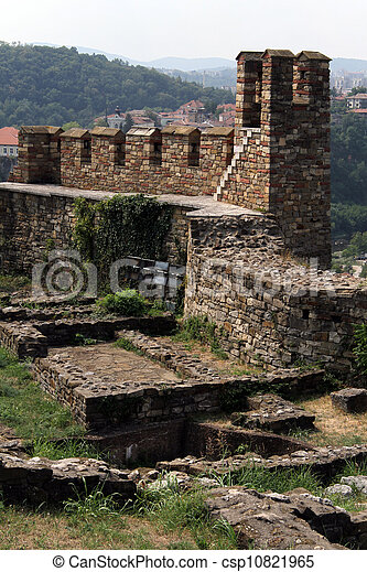 Wall of fortress - csp10821965