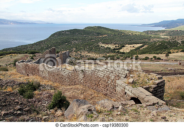 Wall of fortress - csp19380300
