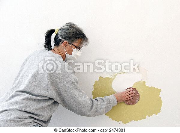 wall repair - csp12474301