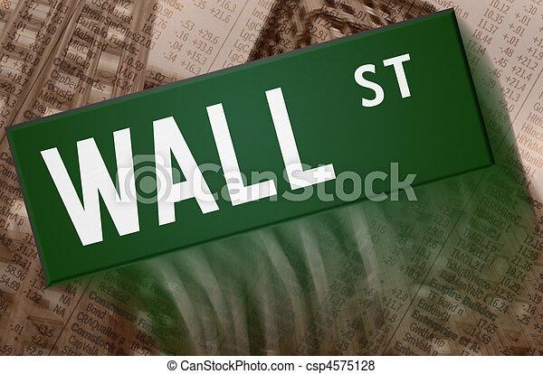 Wall Street - csp4575128