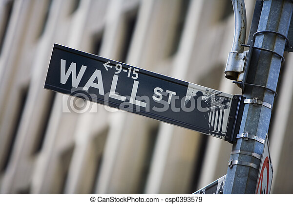 wall street - csp0393579