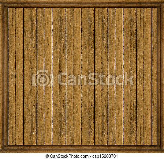 Stock Photography of Wall Wood Frame Mock Up Wood House Wall