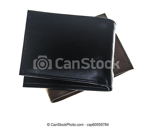 Wallet isolated on white background - csp60559784