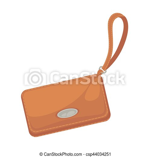 Wallets with money shopping. Purse  cash. - csp44034251