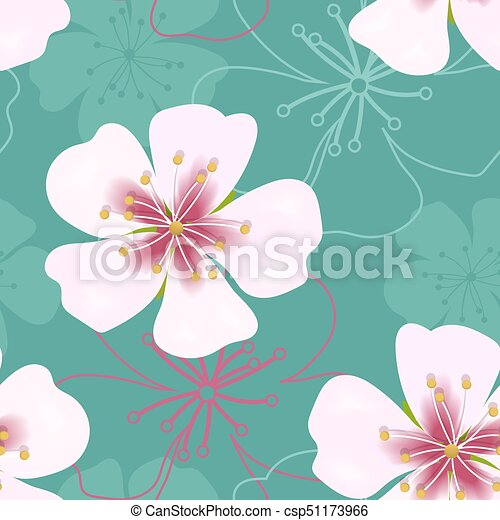 Wallpaper simple cute seamless pattern vintage pink flowers on wallpaper simple cute seamless pattern vintage pink flowers on green csp51173966 mightylinksfo