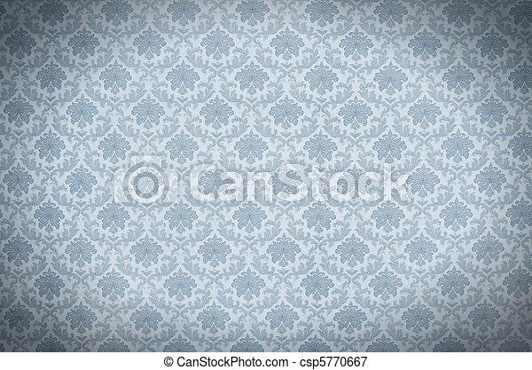 Wallpaper Texture Blue Elegant Vintage Wallpaper Texture