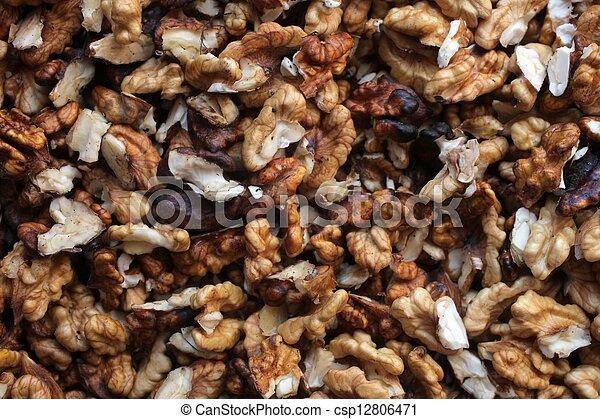 Walnuts - csp12806471