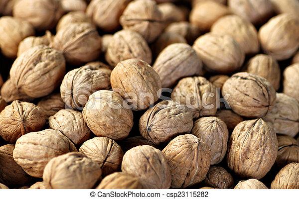 Walnuts - csp23115282
