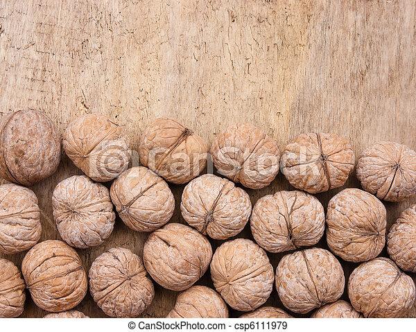 walnuts - csp6111979
