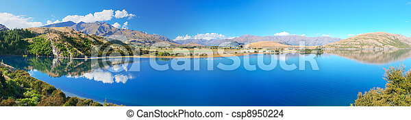 Wanaka lake - csp8950224
