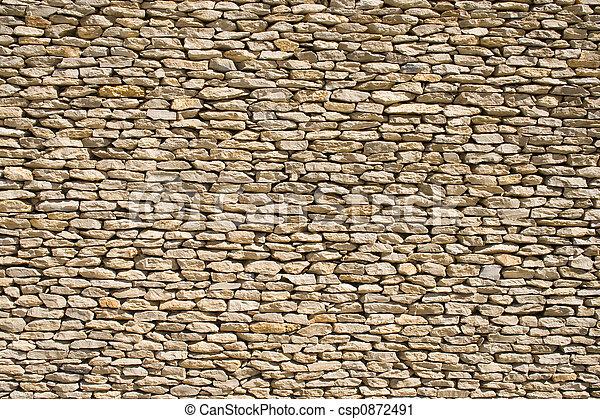 Steinmauer 1 - csp0872491