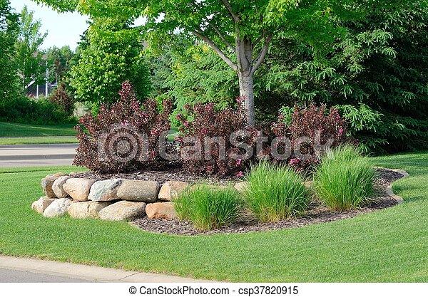 Wand gartengestaltung str ucher gestein behalten for Gartengestaltung wand