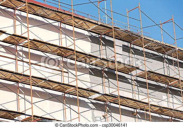 Wand, Gerüst   Csp30046141