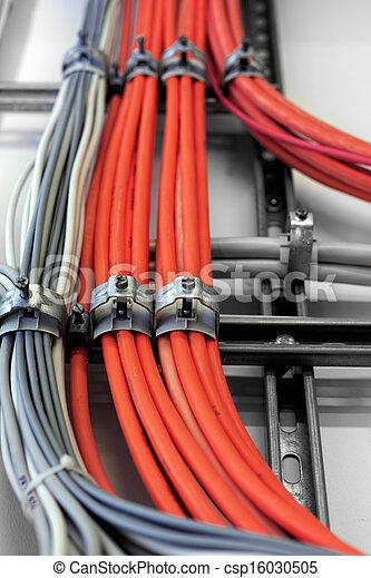 Wand, industrie, kabel, sauber Stockfotografie - Suche Bilder und ...