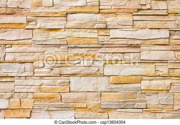 Backsteinmauer für Hintergrund - csp13604304