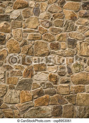 wand, mauerwerk, gestein - csp8953061