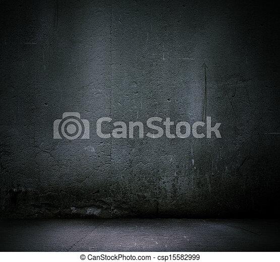 Schwarzer Hintergrund - csp15582999