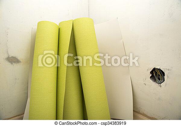 Tapete verputzen beim with tapete verputzen affordable wnde verputzen dekor streichputz ideen - Feuchte innenwande ...