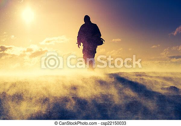 Hiker oben - csp22150033