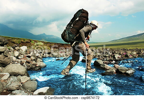 Hike on Kamchatka - csp9874172