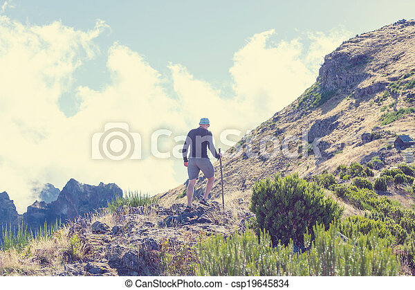 Hike in madeira - csp19645834