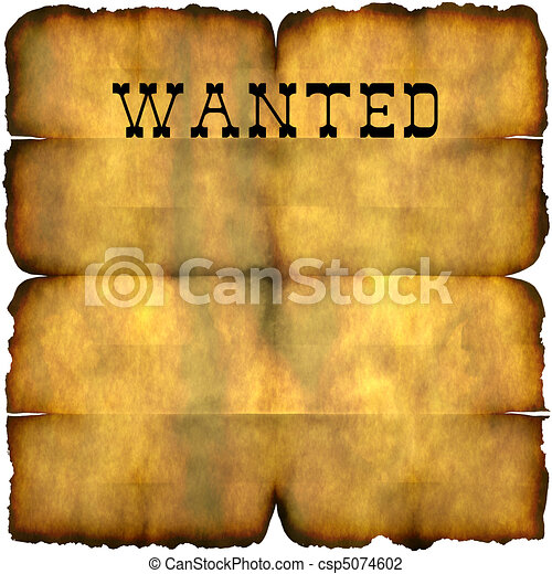 wanted poster an empty wanted poster with copy space isolated over rh canstockphoto com wanted clipart free most wanted clipart