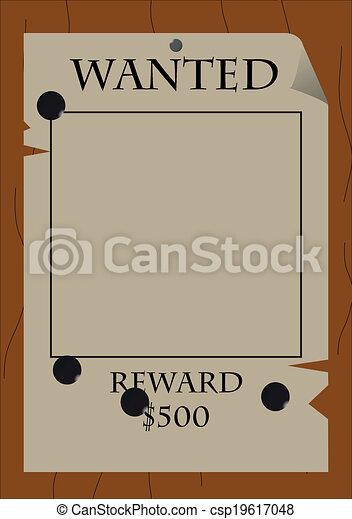 Wanted-Reward - csp19617048