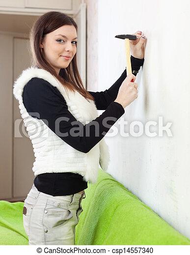 Wants pared unidad clavo ni a martillo wants pared - Clavos para pared ...