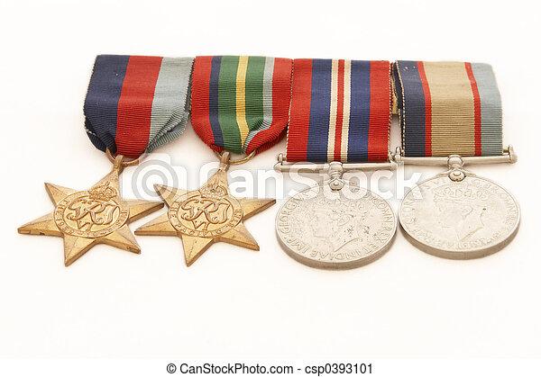 War Medals - csp0393101